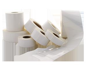 Etiquetas Polipropileno Branco