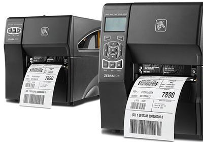 Impressoras de etiquetas Zebra Série ZT