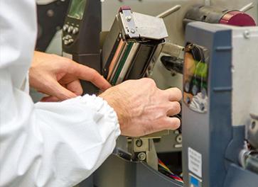 Assitência técnica a etiquetas