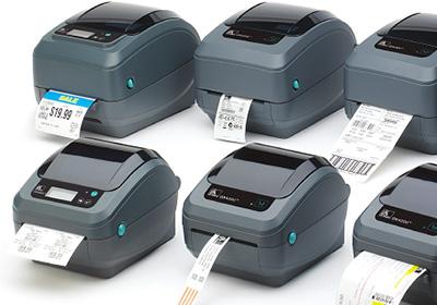 Impressoras de etiquetas Zebra Série GC